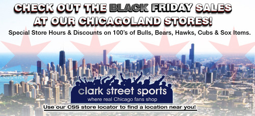 Clark Street Sports Black Friday Sale