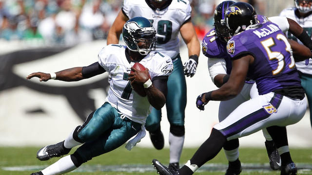 Baltimore Ravens @ Philadelphia Eagles September 16th, 2012