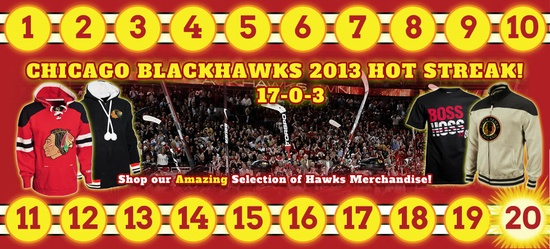 Chicago Blackhawks Winning Streak