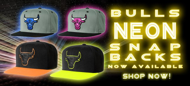 Chicago Bulls Neon Hats