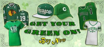 Get your GREEN ON for Saint Patricks Day! Shop now!