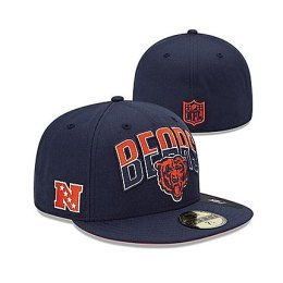 Chicago Bears Navy 2013 Draft Flatbill Hat