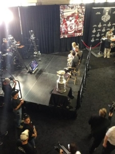 """My, this looks like a lovely place to live,"" said the Stanley Cup."