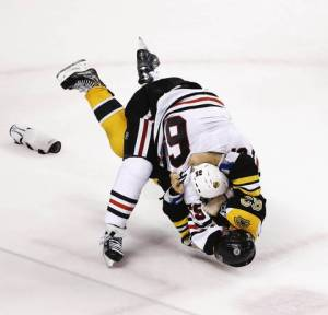And if that doesn't work, have Shaw and Marchand fight it out in the last twenty seconds again.